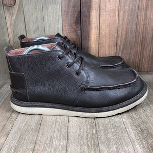 Toms Leather Chukka Boots Mens Size 9